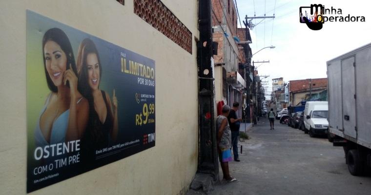 TIM remunera comunidades com campanha através do 'Outdoor Social'