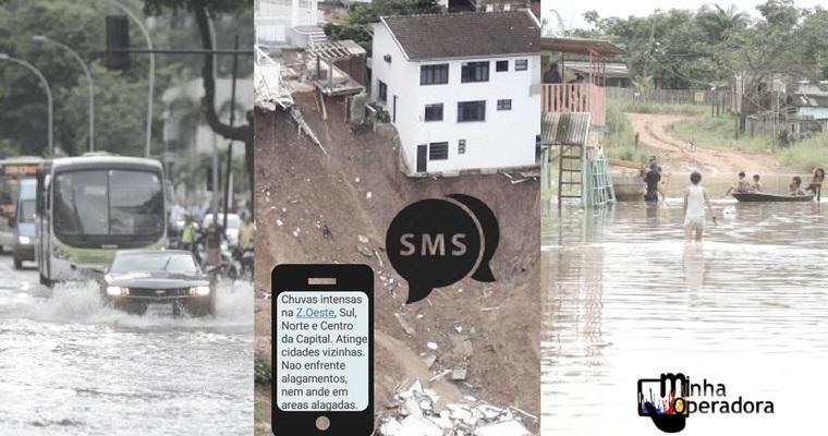 Norte e Nordeste já recebem alerta de desastres pelo celular