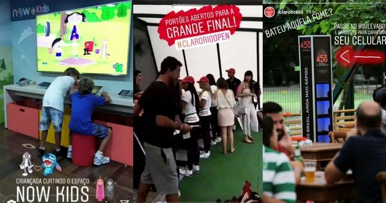 Claro também faz evento de tênis: o Rio Open