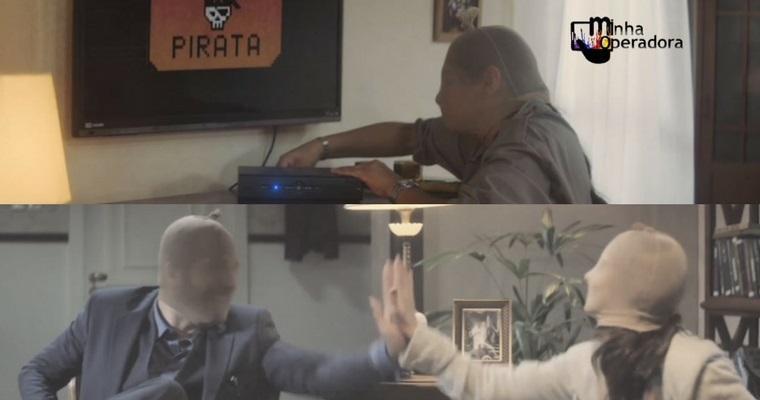 'Pirata: a operadora de quem quer arrumar problemas'; veja os vídeos