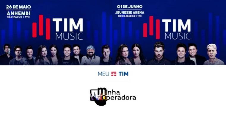 TIM libera ingressos com desconto para o Festival TIM Music