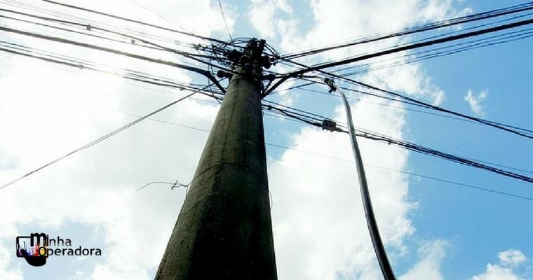 Morador de rua rouba cabos da Oi e gera R$ 10 mil de prejuízo