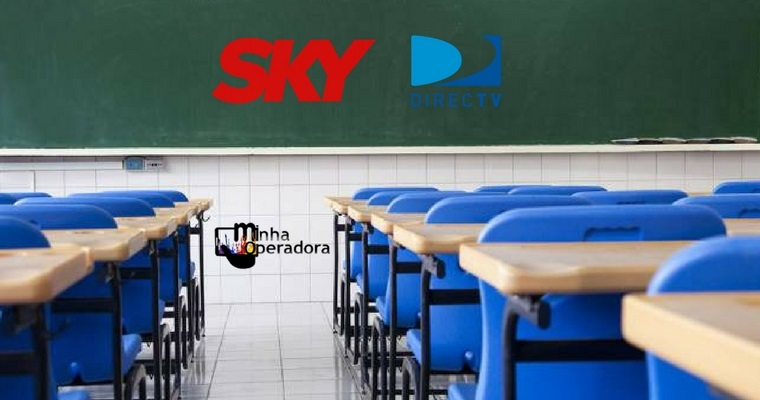 SKY lança Escola+, projeto com conteúdo de TV para escolas públicas