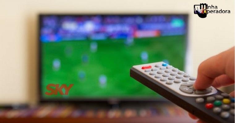 SKY abre sinal de cinco canais para clientes pré-pago