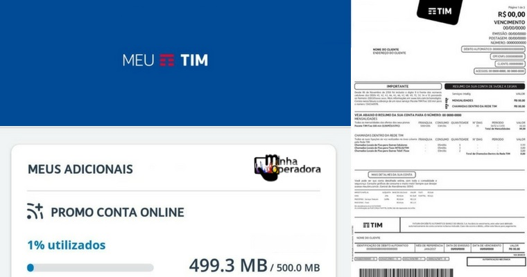 TIM aproveita greve dos Correios para divulgar bônus em fatura on-line