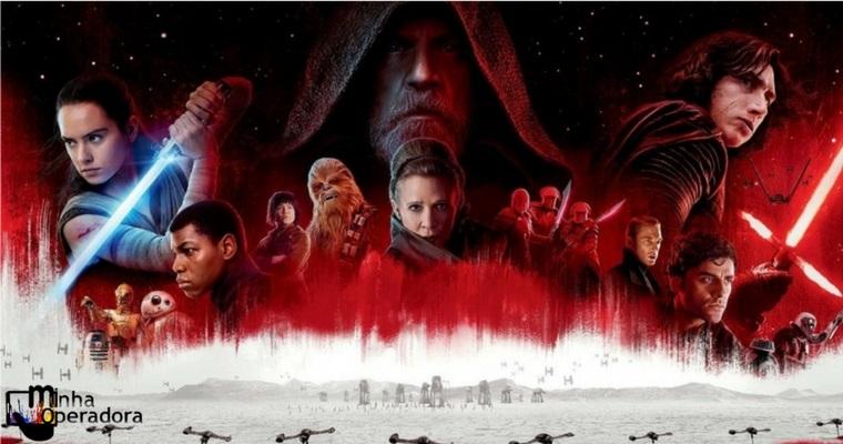 Vivo TV e NET oferecem pré-lançamento de Star Wars: Os Últimos Jedi