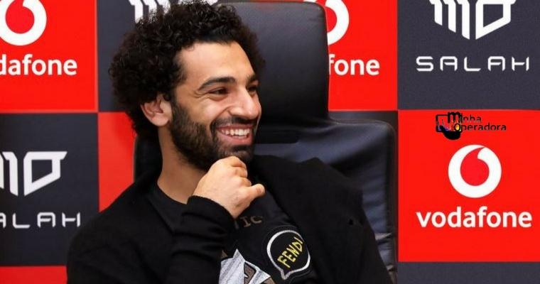 Operadora oferece bônus a cada gol do jogador Salah, do Liverpool