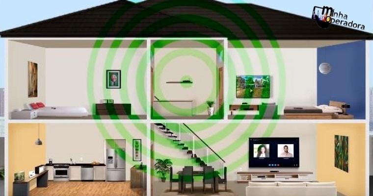 O que fazer para que o sinal Wi-Fi funcione em todos os cômodos?