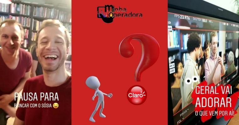 Tiago Leifert faz suspense sobre novidades da Claro