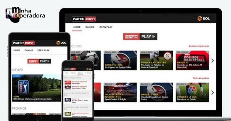 ESPN também passa a transmitir conteúdo fora da TV paga