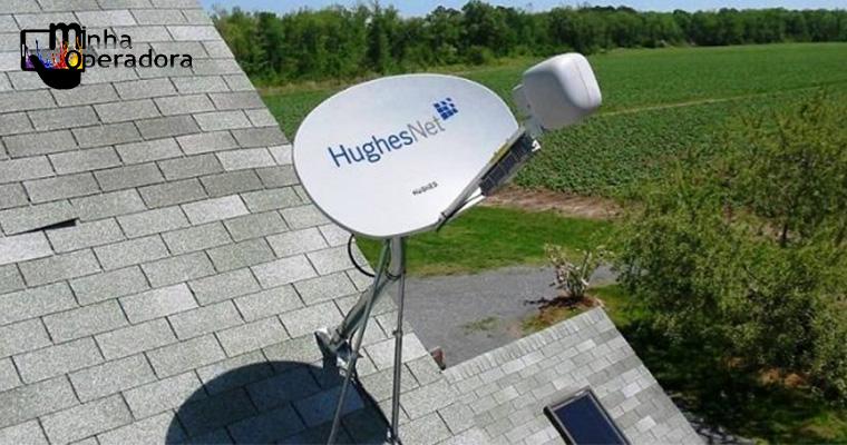 HughesNet levará banda larga via satélite para mais cidades