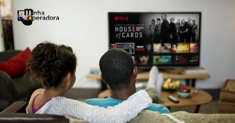 Operadora promete pacote de TV com Netflix inclusa