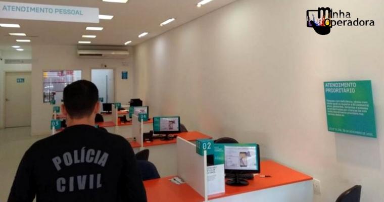 'Operação Hello' investiga fraudes e prende dono de franquias da Oi