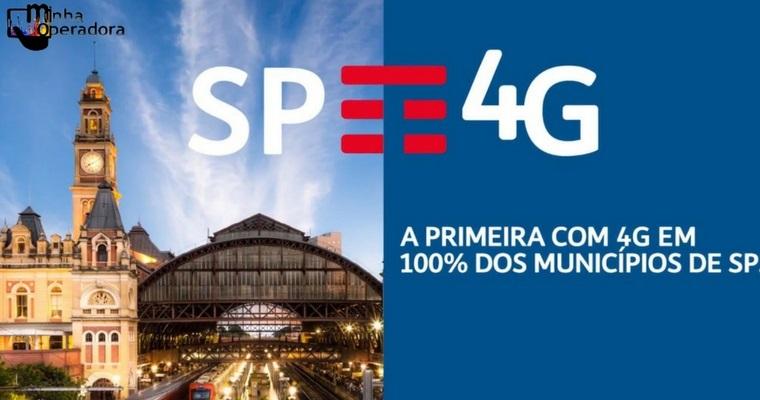 TIM anuncia novo marco: 4G em todos os municípios de São Paulo