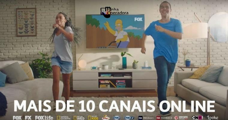 Comercial do TIM Live explora acesso ao FOX+ e internet mais rápida