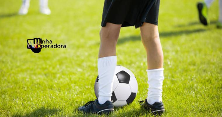 TIM patrocina torneio de futebol disputado por crianças