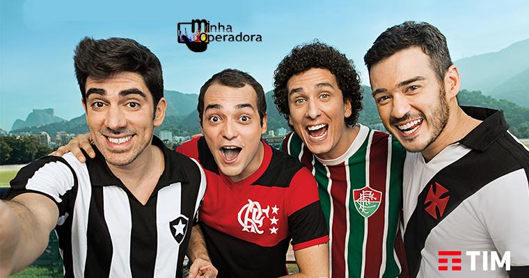 TIM renova patrocínio com os quatro grandes clubes cariocas