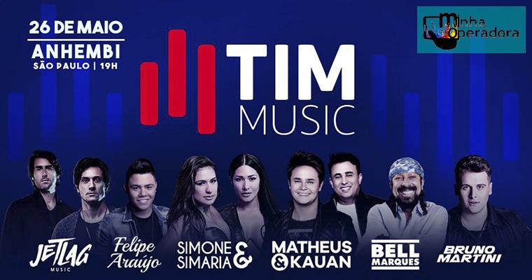 TIM sorteia 500 pares de ingressos para Festival de Música