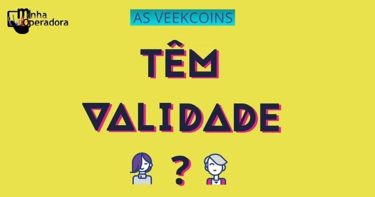 Veek explica como funcionam as validades de suas recargas