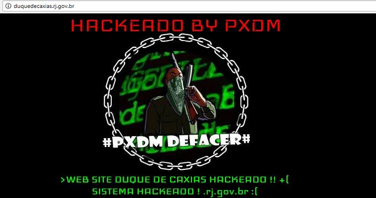 Site da Prefeitura de Duque de Caxias (RJ) é hackeado