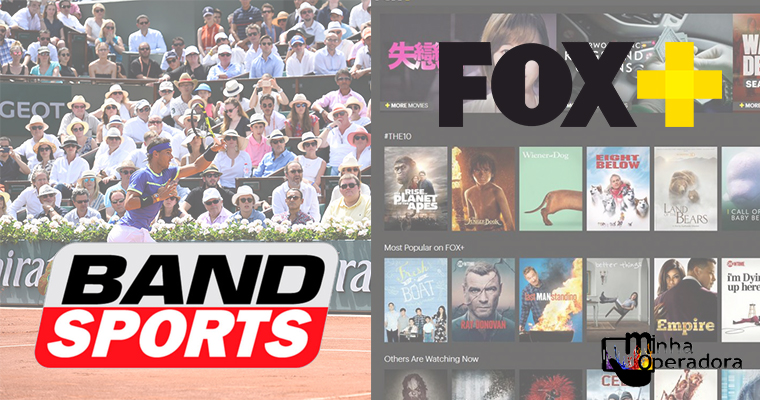 Aplicativos Band Sports e Fox+ serão vendidos pela Claro