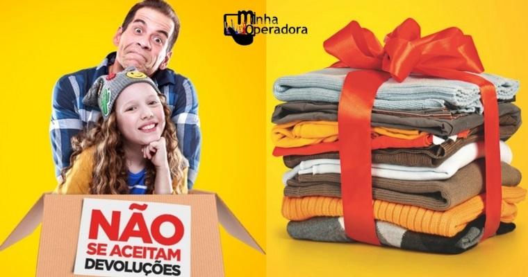 Lojas da TIM participam de campanha de arrecadação de agasalhos