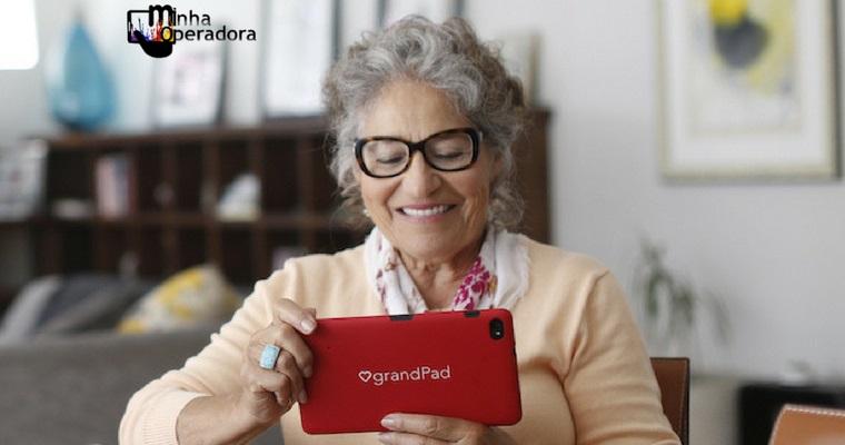 Operadora cria 'GrandPad': especial para a comunicação de idosos