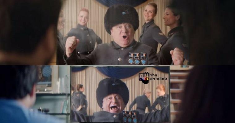 Skavurska! Coronel Tutchenko volta em novo comercial da NET