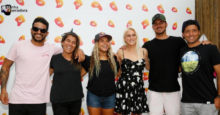 Oi lança ações em Saquarema ao patrocinar etapa de mundial de surf