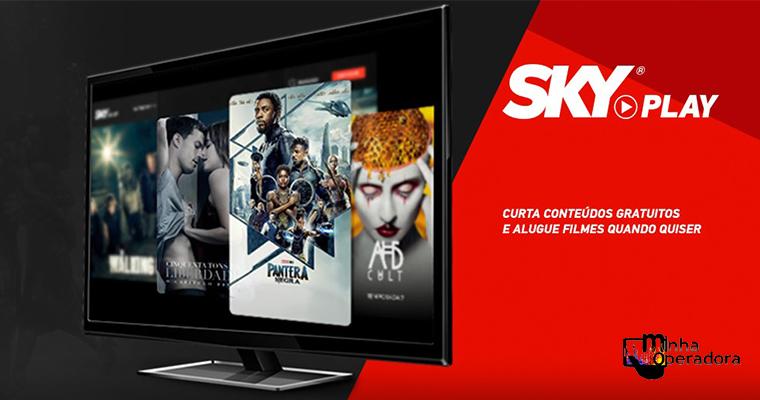 Sky lança nova plataforma de vídeo sob demanda