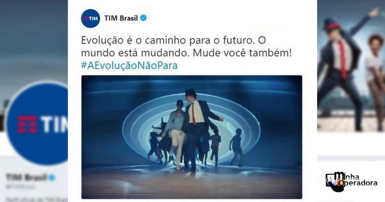 Assinatura da TIM fica em primeiro lugar no Twitter ao longo do dia