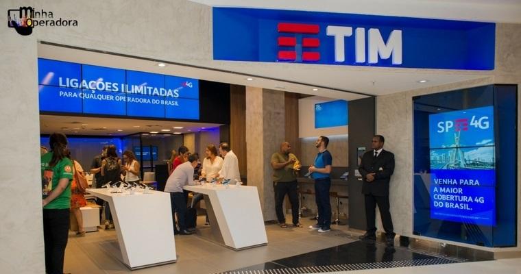 Duas lojas digitais da TIM são inauguradas no Rio de Janeiro
