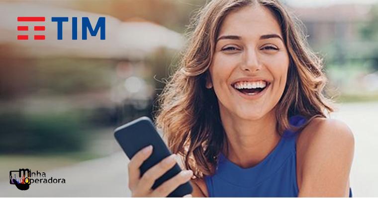 TIM dá 40% de desconto em celular novo para quem levar usado