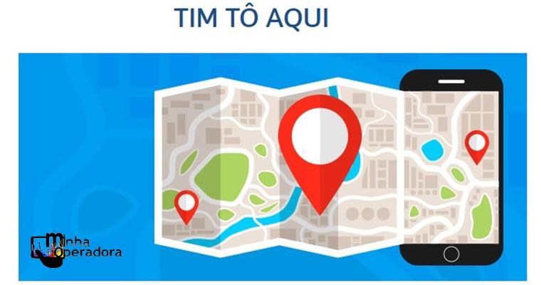 App TIM TÔ AQUI permite que usuários compartilhem suas localizações