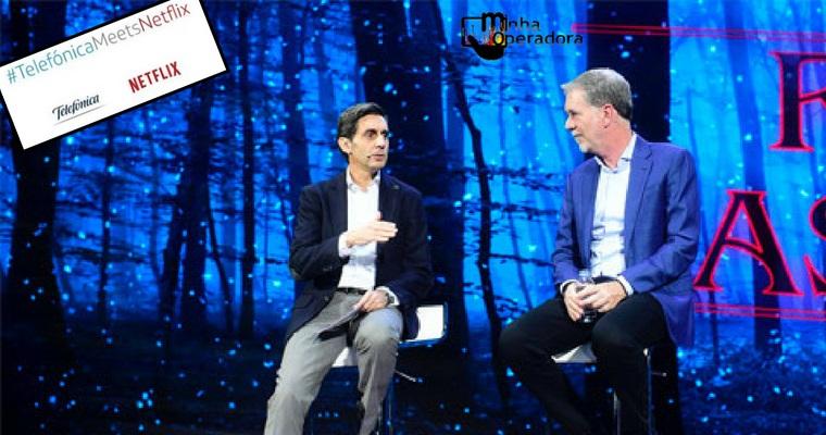 Telefónica Vivo anuncia parceria para acesso ilimitado à Netflix