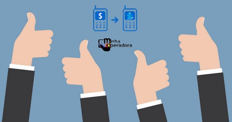 Como funciona o Vivo Transferência de Crédito?