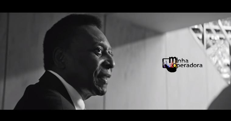 Vivo recruta Pelé para campanha #JogueJunto