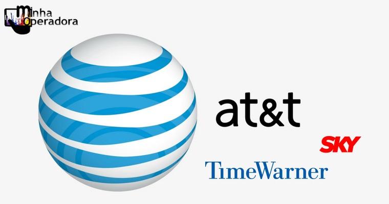 Concluída fusão entre a dona da SKY, AT&T, e a Time Warner