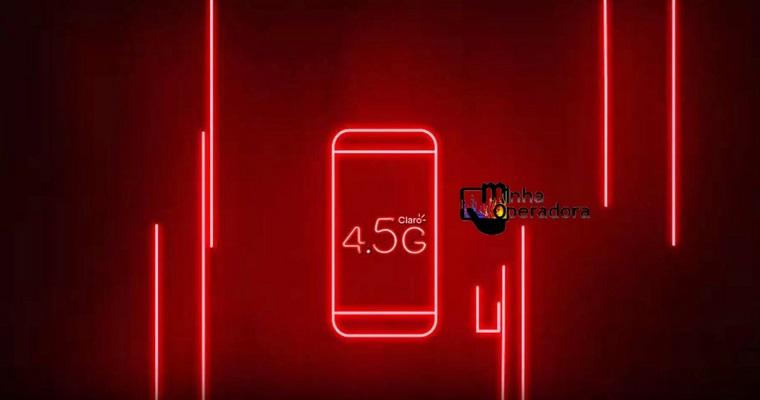 Claro expande transmissão 4.5G na faixa de 700MHz