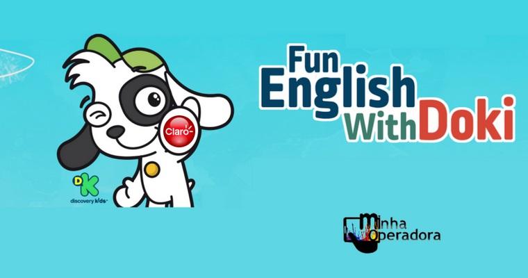 Claro e Discovery Kids lançam app para crianças aprenderem inglês