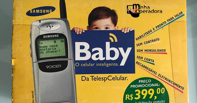 História: Telesp Celular lançava primeiro celular pré-pago, em 1999