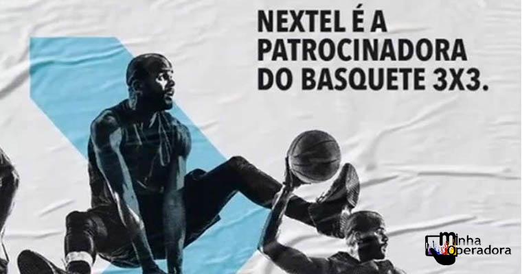 Nextel patrocina basquete 3x3 e promove ações no Circuito Paulista