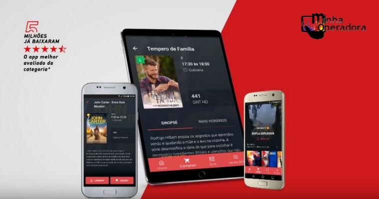 SKY atualiza o 'Minha SKY' e diz ter o melhor app de TV paga
