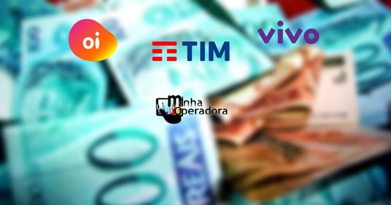 Salários milionários de diretores da TIM, Oi e Vivo são divulgados