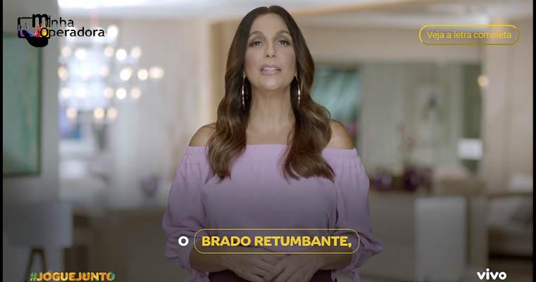 Vivo reúne celebridades para explicar o Hino Nacional