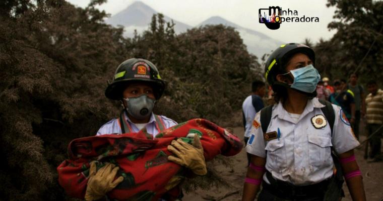 Fundação da Vivo pede ajuda pelas vítimas de vulcão na Guatemala