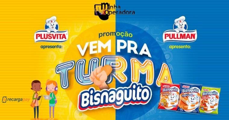 Promoção garante crédito de celular na compra de Bisnaguitos