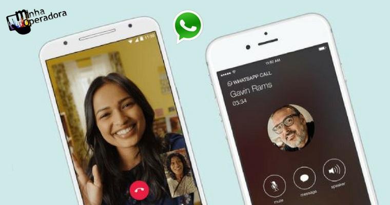 Em apps como WhatsApp, chamadas de vídeo ganham de chamadas de voz