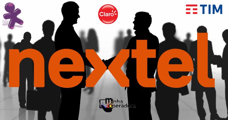 Além da Vivo, TIM e Claro também querem comprar Nextel