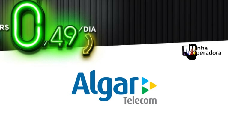 Algar também oferece ligações ilimitadas e 100MB por dia a R$ 0,49